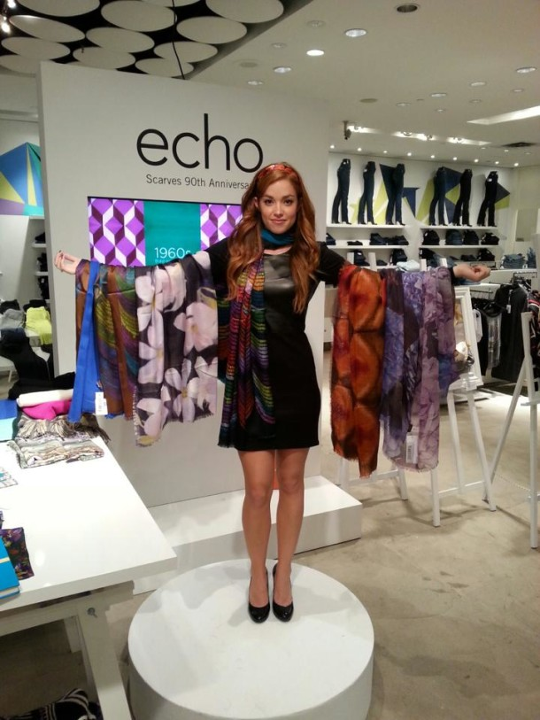 Echo Scarves Event